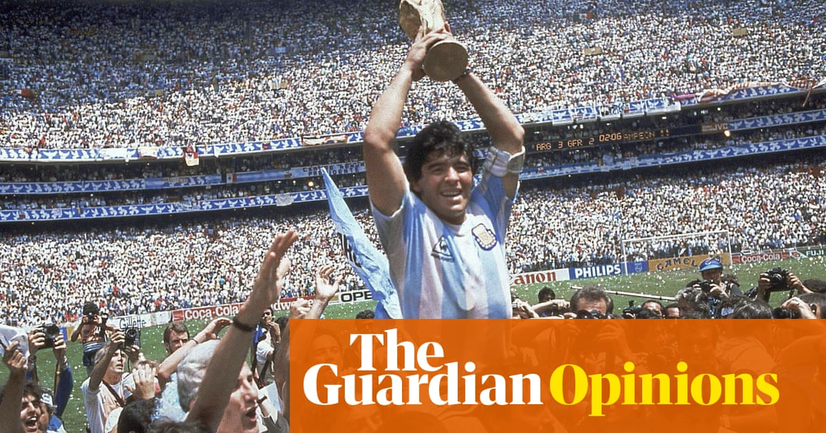 Diego Maradona: the achingly human superstar who embodied Argentina | Marcela Mora y Araujo