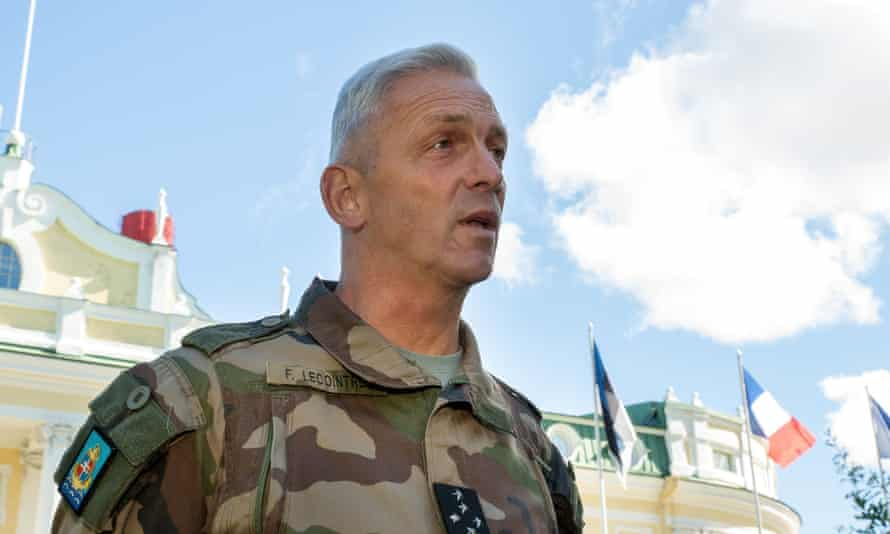 Gen François Lecointre, the armed forces chief of staff