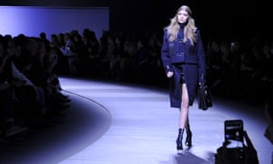 Gigi Hadid opens the Versace show