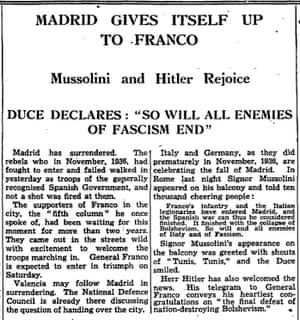 The Guardian, 29 March 1939.