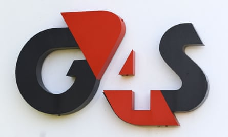 G4S sign at its headquarters in Crawley, West Sussex