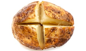 'It shouldn't need to be said the potato must be baked with lots of salt and oil ...'