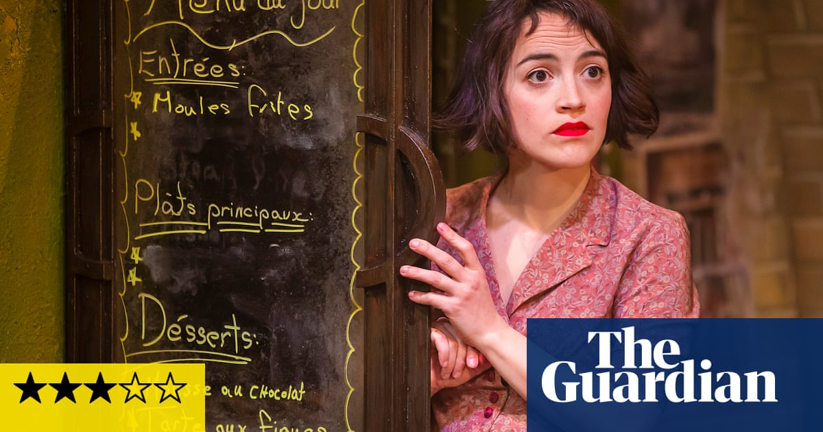 Amélie the Musical review – kindness, kooks and kissing cellos in the city of love