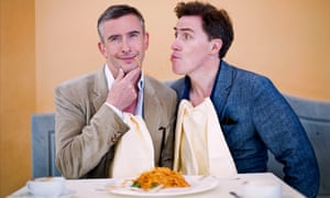 Steve Coogan and Rob Brydon in the second series of The Trip.