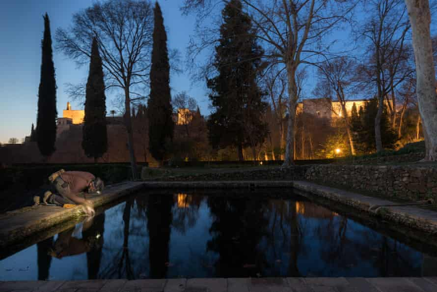 A pool in the Alhambra