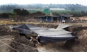 The excavation at Jaljulia.