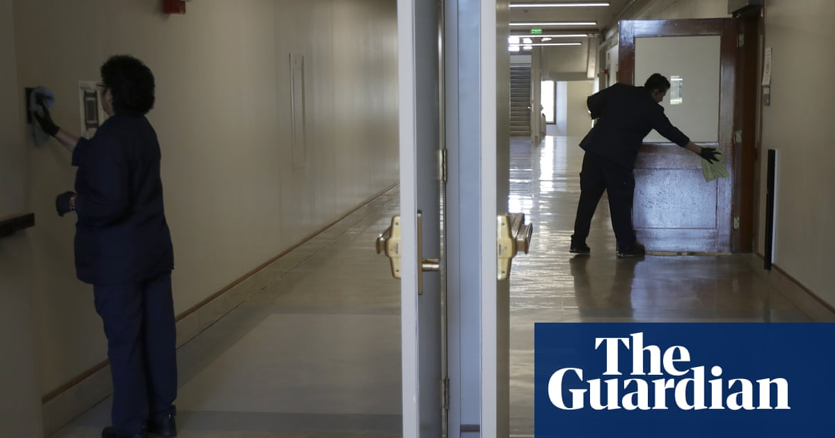 'We're trying to survive': workers face cuts as US public sector lags in recovery