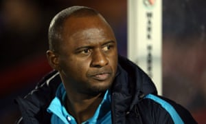 Patrick Vieira is the new head coach at New York City FC.
