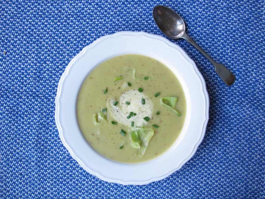 Perfect leek and potato soup.