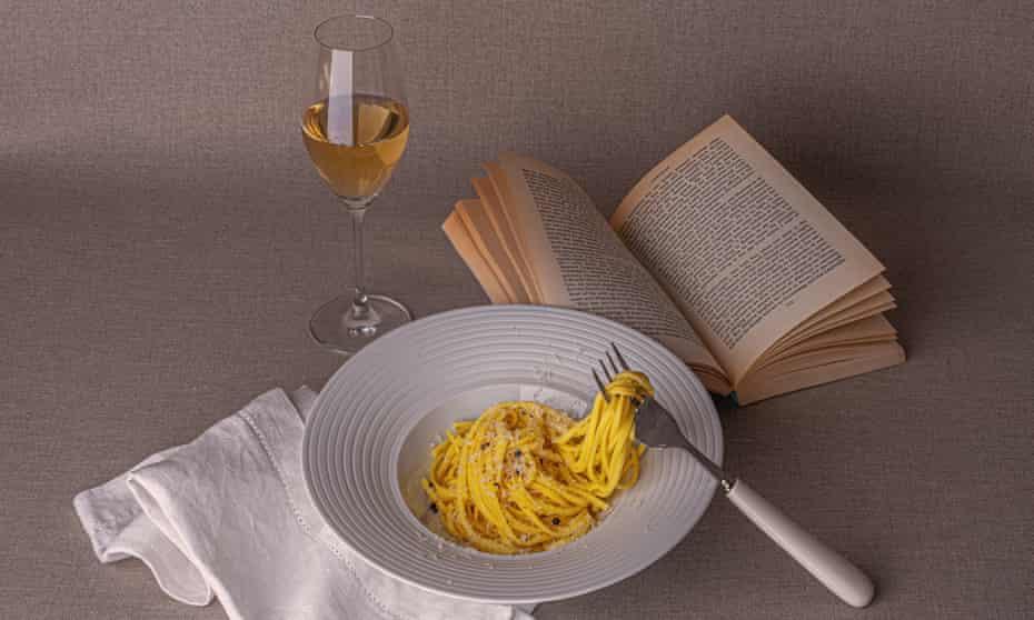 Assiette de spaghettis pour un.