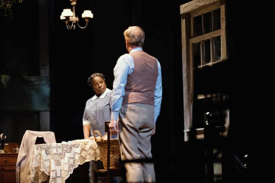 LaTanya Richardson and Jeff Daniels in To Kill a Mockingbird
