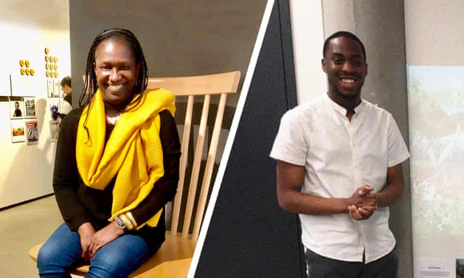 Elsie Owusu and Shawn Adams