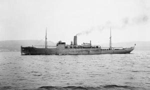 HMS Coreopsis于1917年