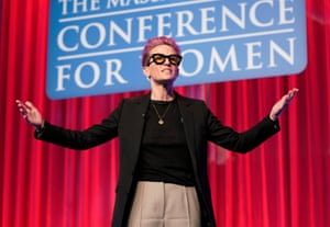 Rapinoe speaks at the Massachusetts Conference For Women 2019 at Boston Convention Center on December 12 (which just so happens to be the state Elizabeth Warren represents)
