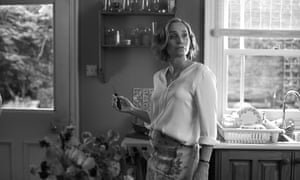 Kristin Scott Thomas in Sally Potter's new film, The Party. 'Part of the project was to go back to cinematic bare bones,' says Potter.