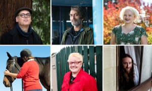 Six Australians signed on in May last year to write about their lives
