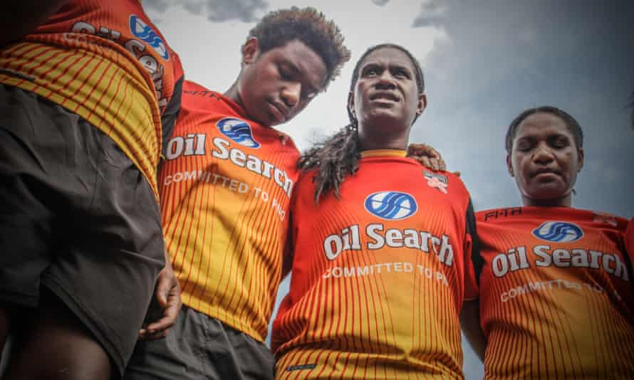 PNG's national women's team, the Orchids