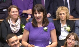 Rachel Reeves pays tribute to Jo Cox MP in the House of Commons, June 2016.