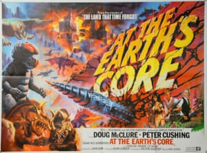 At The Earth's Core, 1976. Artwork by Tom Chantrell for British Lion.