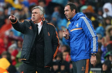 Clement and Ancelotti won the Champions League together at Real Madrid.