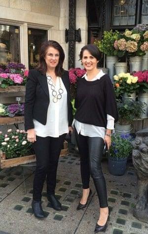 Penny Sloane and Debbie Gray, Pocket Wardrobe founders