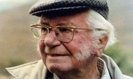 Author and fell walker Alfred Wainwright