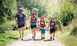 PGL organises school and family outdoor adventure trips.