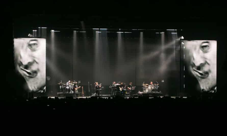 Massive Attack's Mezzanine XX1 in Amsterdam.