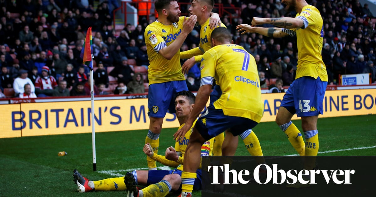 97cf9a0e28c Leeds snatch win after Pablo Hernández sinks Sheffield United with ...