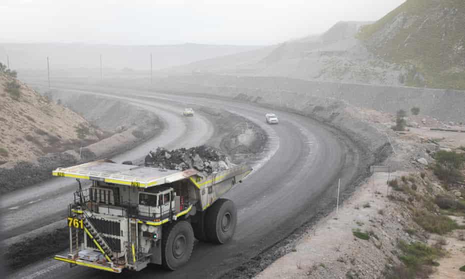 The Mount Thorley Warkworth mine, near Muswellbrook, Upper Hunter Valley, NSW
