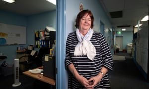 Service director of mental health at Queensland's South West Hospital and Health Service, Christine McDougall, at her clinic in Roma, Queensland.