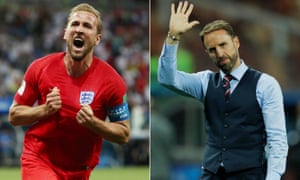 England forward Harry Kane and manager Gareth Southgate are among the nominees for Fifa's player and coach of the year.