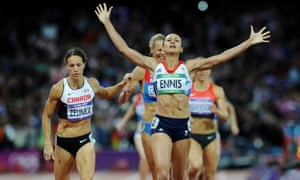 Jessica Ennis-Hill's heptathlon gold at London 2012 was part of a memorable night alongside wins for Greg Rutherford and Mo Farah.
