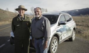 Yellowstone's Steve Iobst (left) and Toyota's Kevin Butt.