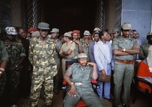 Yoweri Museveni took power in a coup in 1986.