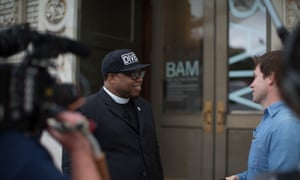 Rev Lennox Yearwood at BAM for People's Climate Music
