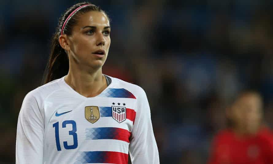 Alex Morgan is one of the world's most dangerous strikers.