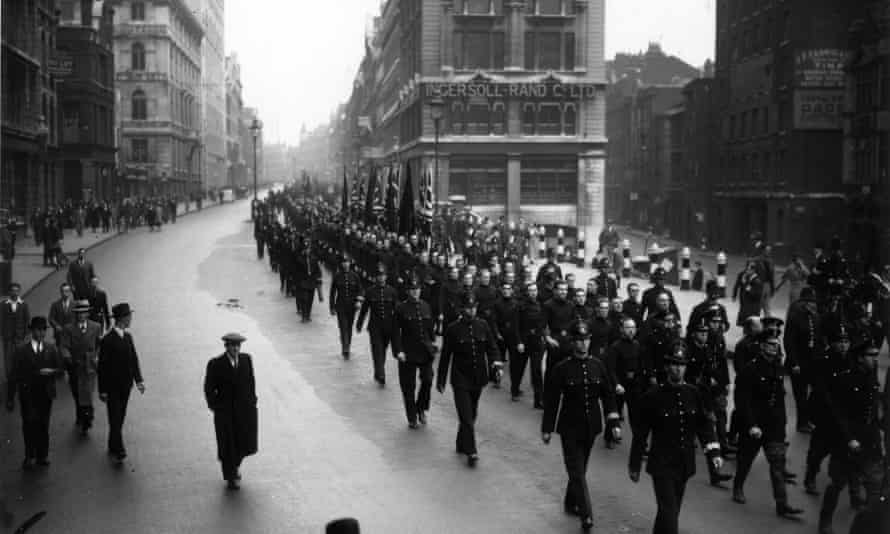 A march through London, organised by Oswald Mosley.