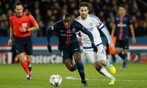 Blaise Matuidi was one of the stars of the 2-1 first-leg victory over Chelsea.