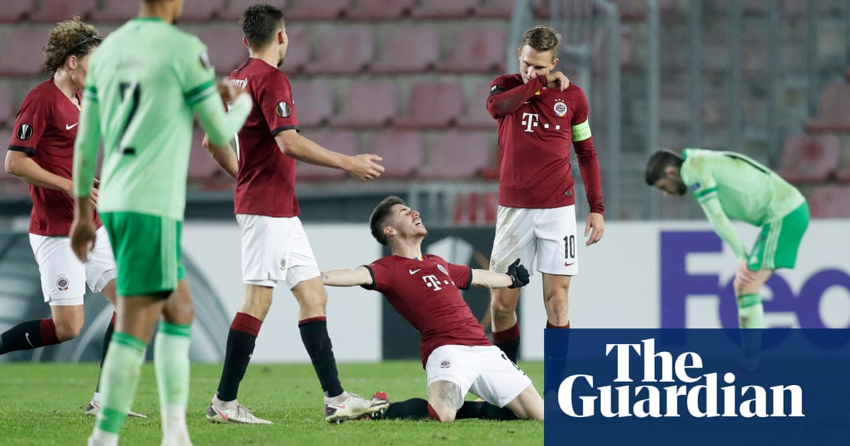 Celtic slump out of Europa League with heavy defeat at Sparta Prague