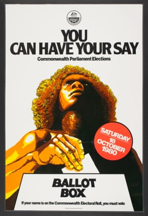 You Can Have Your Say Australian Electoral Office poster, 1980