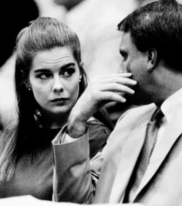 Elizabeth Haysom enters a plea of guilty on two counts of being an accessory before the fact of the murders of her parents on 24 August 1987.