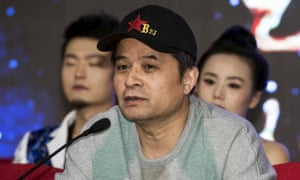 Bi Fujian, an anchor of China Central Television (CCTV), speaks during a news conference in Beijing, November 21, 2013. He faces 'severe punishment' after a video of him insulting the founder of modern China went viral on social media sites.