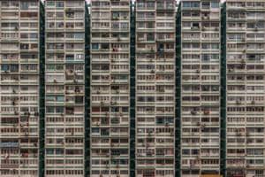 Man Wah Building. Jordan, Kowloon.