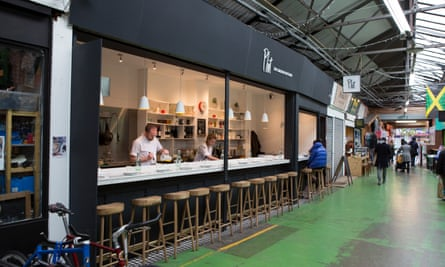 Plot restaurant at unit 70-72 Broadway market in Tooting Broadway, south west London.