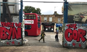 A carwash shows its support for Jeremy Corbyn