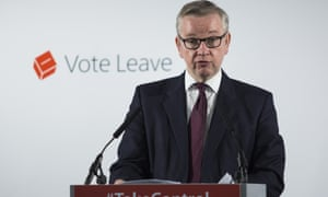 Michael Gove dismisses every informed objection.