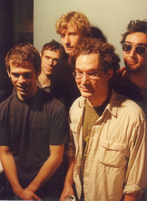The band pictured in 1999, the year they formed.
