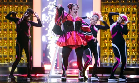 Netta, who won Eurovision 2018 for Israel.