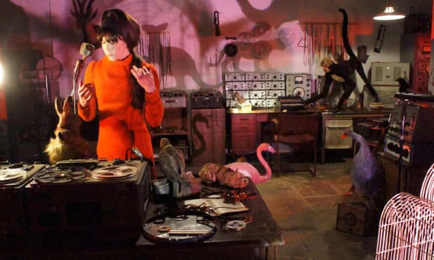 Caroline Catz as Delia Derbyshire in The Myths and the Legendary Tapes.